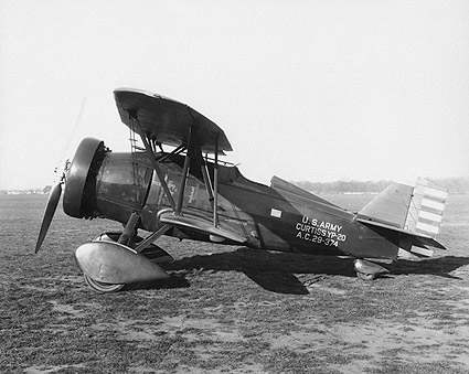 Curtiss YP-20 Airplane Side View Photo Print