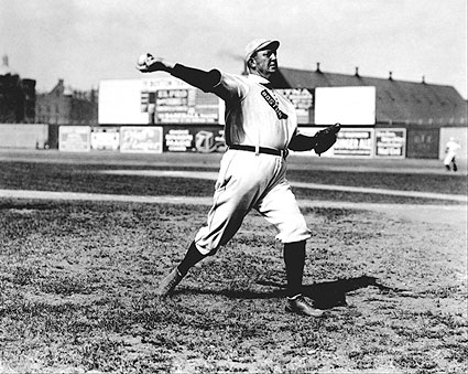 Cy Young Throwing Baseball Boston Red Sox Photo Print