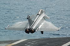 Dassault Rafale French Fighter Aircraft Takeoff Photo Print for Sale