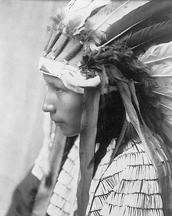 Daughter of Bad Horse Edward S. Curtis Photo Print