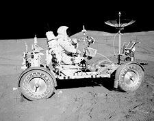 David Scott & Lunar Rover Apollo 15 NASA Photo Print for Sale