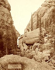 Deadwood Mountains, South Dakota 1891 Photo Print for Sale