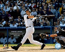Derek Jeter New York Yankees Baseball Photo Print for Sale