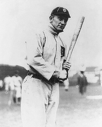 Detroit Tigers Ty Cobb 1914 Portrait Photo Print