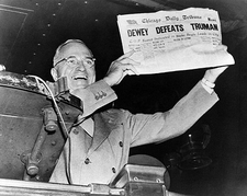 Dewey Defeats Truman Newspaper Photo Print
