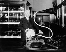 Disc Record Inventor Emile Berliner  Photo Print for Sale