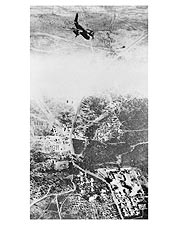Douglas A-20 Havoc Bombing North Africa Photo Print for Sale