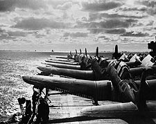 Douglas Scout Bombers Aircraft Deck WWII Photo Print for Sale