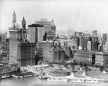 Downtown Manhattan & Battery Park, NYC Photo Print
