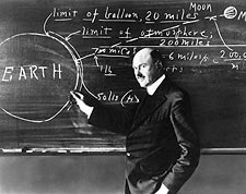 Dr. Robert Goddard Clark University 1924 Photo Print for Sale