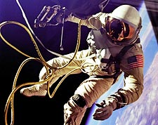 NASA Astronaut Ed White First American Space Walk Photo Print for Sale
