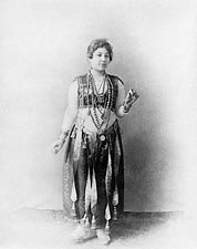 Egyptian Dancer Worlds Columbian Expo 1893 Photo Print for Sale