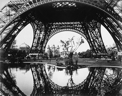 Eiffel Tower, Paris Exposition 1889, France Photo Print