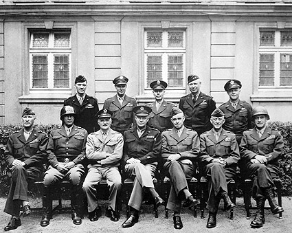 Eisenhower, Patton & American Generals WWII Photo Print