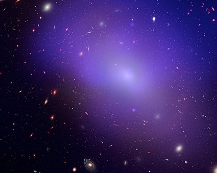 Elliptical Galaxy Hubble Space Telescope Photo Print