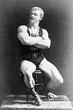Eugen Sandow Full Length Sarony Portrait Photo Print for Sale
