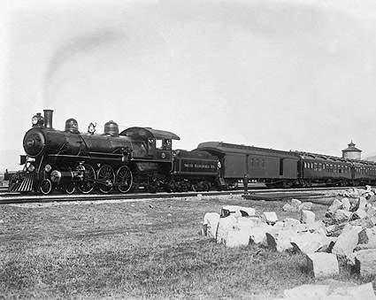 Express Train, South Manchurian Railroad Photo Print
