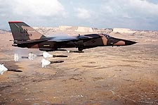 F-111 Aardvark Dropping Bombs Photo Print for Sale