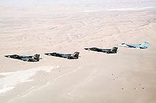 F-111F and EF-111A Desert Storm Formation Photo Print for Sale