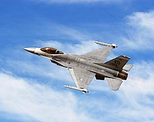 F-16 Falcon Fighter Banking Photo Print for Sale