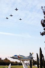 F/A-18 / F-18 Hornet Missing Man Formation Photo Print for Sale