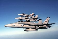 F/A-18 Hornets of CVW-17 VFA-83 F-18 Photo Print for Sale
