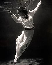 Fashion Model Underwater Toni Frissell 1939 Photo Print for Sale