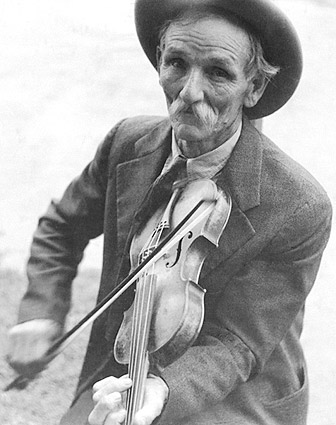 Fiddlin' Bill Hensley Classic Fiddle 1937 Photo Print