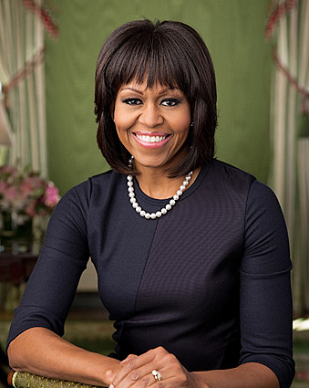 First Lady Michelle Obama Official White House Portrait Photo Print