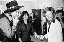 First Lady Rosalynn Carter Concert Benefit Photo Print for Sale