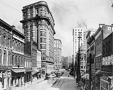 Flatiron Building Atlanta Georgia 1900s Photo Print for Sale