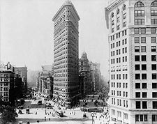 Flatiron Building New York City 1909 Photo Print for Sale