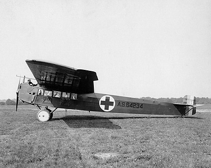 Fokker A2 Ambulance Aircraft Photo Print