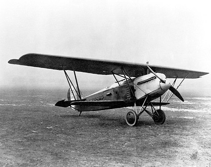 Fokker D.Xi (PW-7) Airplane Photo Print