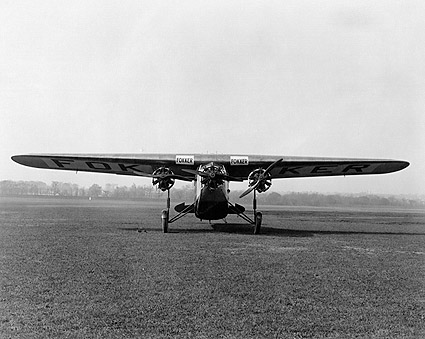 Fokker F.VII / FVII Trimotor Aircraft Photo Print