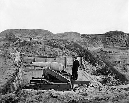 Fort Fisher Timothy H. O'Sullivan Civil War Photo Print
