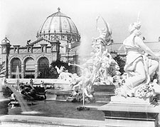 Fountain Coutan 1889 Paris Exposition Photo Print for Sale