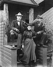 Frances Benjamin Johnston Group Portrait Photo Print for Sale