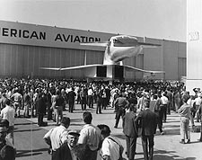 Front View of XB-70 / XB-70A Bomber Rollout Photo Print for Sale