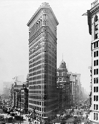 Fuller Building / The Flatiron Building NYC 1910 Photo Print