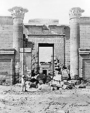 Gateway of Karnak Ancient Ruins Egypt Photo Print for Sale