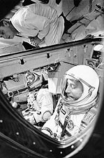 Gemini 3 Virgil 'Gus' Grissom & John Young Photo Print for Sale