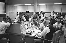 Gemini 5 Mission Control Center Houston Photo Print for Sale