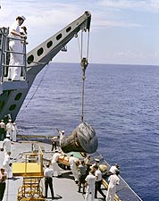 Gemini 5 Ocean Recovery  Photo Print for Sale