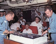 Gemini 5 Recovery Party Photo Print for Sale