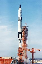 Gemini 6 Liftoff From Cape Canaveral Photo Print for Sale