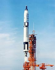 Gemini 6 Titan II Rocket Launch NASA Photo Print for Sale