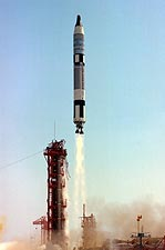 Gemini Titan 4 Liftoff From Cape Canaveral Photo Print for Sale
