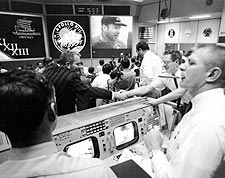 Gene Kranz & Deke Slayton Apollo 13 Celebration Photo Print for Sale