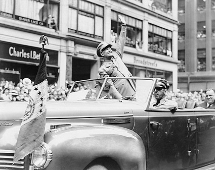 General Dwight D. Eisenhower in WWII Parade Photo Print